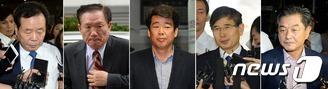 '비리혐의' 의원들, 속속 자진출석
