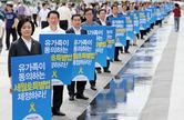 새정치聯, 지지율 10%대로 '추락'…朴대통령 상승세도 멈춤