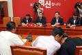 세월호 유가족, 새누리당 원내지도부 2차 회동