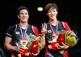男 배드민턴 세계선수권 복식 우승, 누리꾼들 '찬사'