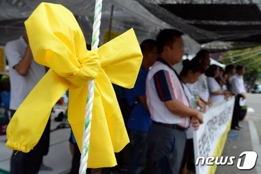 세월호 '청와대 앞 농성 11일'