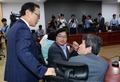 새정치민주연합 소장파 '심각한 대화'