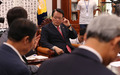 정의화 의장, 새누리 초재선 의원들과 면담