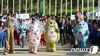 오늘 개막 앞둔 인천AG…축제 분위기