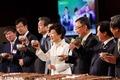 박근혜 대통령, 방송의 날 축하연 참석