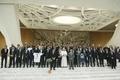 [사진]교황, '평화의 경기' 출전선수들과 찰칵