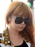 '공항 포착' 박봄, '섹시한 통통 입술'