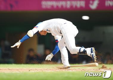 '몸 개그' 김상수