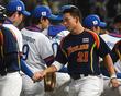 한국 야구, 첫 상대 태국과 '우정의 악수'