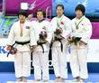 유도 여자 78kg 메달리스트들의 위엄