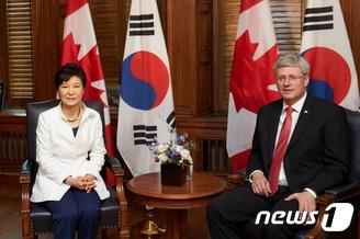 박근혜 대통령 캐나다 순방