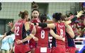 여자배구대표팀, 승리의 환호!