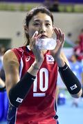 여자 배구 김연경, 22점 폭발로 팀 승리 이끌다!