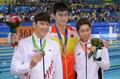 중국 쑨양, 자유형 400m 금메달 획득