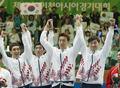 남자 팬싱 에페 단체전 '3연패 미소'