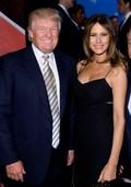 [사진]라이더컵 명단 발표장에 나타난 트럼프 부부