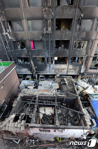 의정부 아파트 화재
