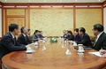 박근혜 대통령, 왕양 부총리 환담