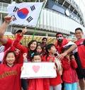 '축구로 하나된 한국-이라크'