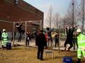 열기 뜨거운 환경미화원 공채 시험