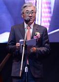 난타 천만관객 축사하는 김종덕 장관