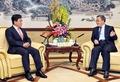 윤상직 장관, 중국 광동성 당서기와 면담