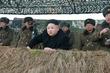 김정은 위원장, 동계도하훈련 참관