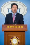 긴급 기자회견 연 이인영 '후보간 정쟁 중단 촉구'