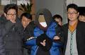 영장실질심사 위해 이동하는 청와대 폭파 협박범