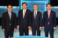 포즈 취하는 새정치민주연합 당대표 후보들