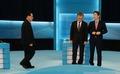 무대 중앙으로 자리하는 새정치민주연합 당대표 후보들