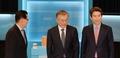나란히 선 새정치민주연합 당대표 후보들