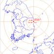 영덕 해역서 리히터 규모 2.2 지진