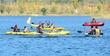 세종호수공원의 카누와 카약