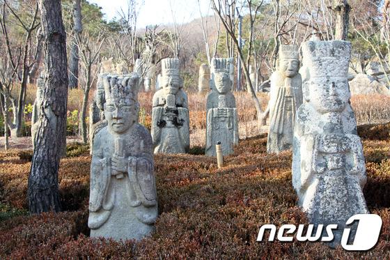 [우리옛돌박물관] 북악산의 풍경과 옛 돌조각의 위엄