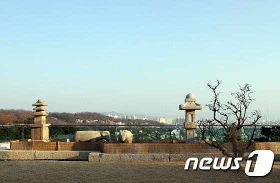 [우리옛돌박물관] 성북동 최고의 명당에서 바라본 풍경