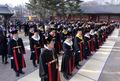 전통과 현대의 졸업식
