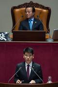 질의하는 박완주 새정치민주연합 의원