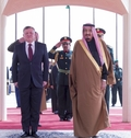 [사진]사우디-요르단 국왕 회동