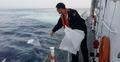 울산 앞바다 벙커C유 유출...방제작업