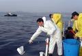 울산 앞바다서 연료 공급중 유출 사고