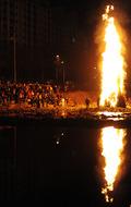 풍년 기원하는 달집 태우기