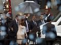 [사진]의회개원 축하하는 아르헨 대통령