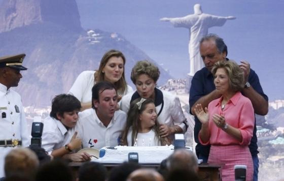 브라질, 리우탄생 450주년 축제 열기