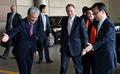 존 키 총리, 방한일정 마치고 출국