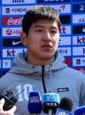 인터뷰 하는 박주호