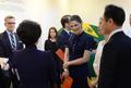스웨덴 왕세녀, 주한스웨덴 대사관 공동전시 개막식 참석