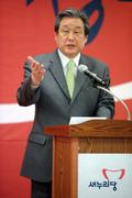 광주 방문한 김무성 새누리당 대표