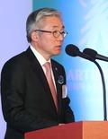 축사하는 김종덕 장관
