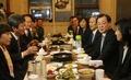 청와대-새누리당 '불판 회동'